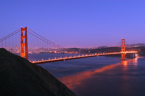 """Golden Gate Bridge (full-span)"" via Flickr"